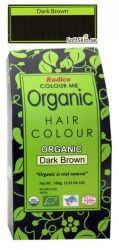 Radico - 100% Ekologisk Hårfärg Dark Brown, 100 g