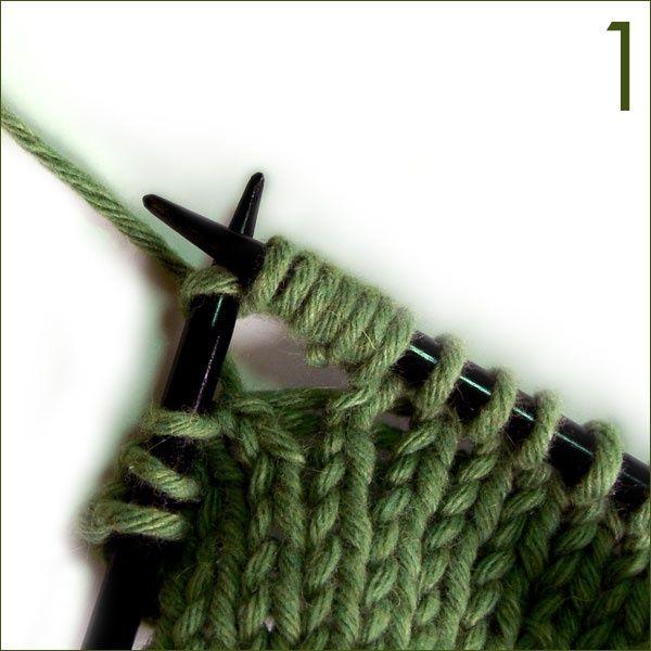 Tutorials on many knitting stitches