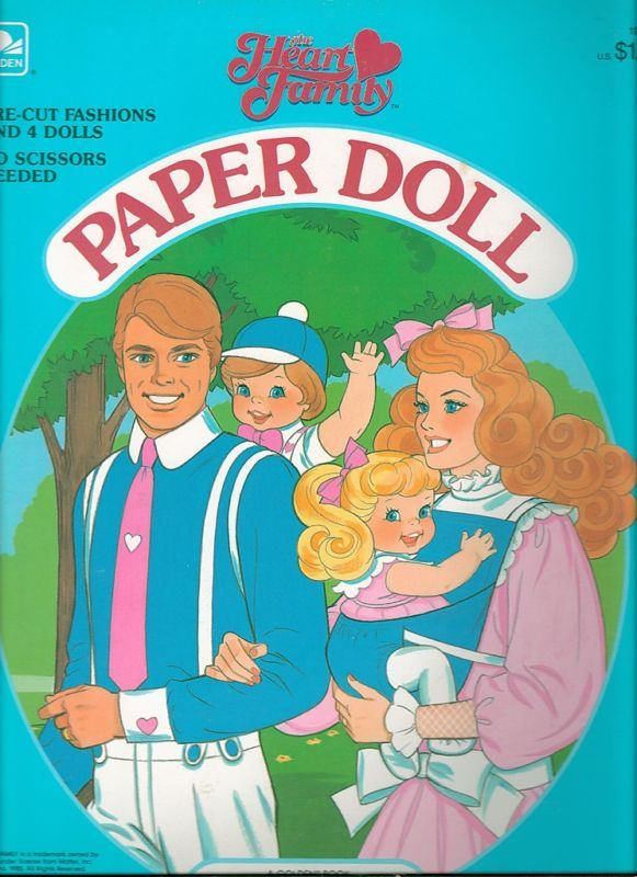 I adored paper dolls as a kid