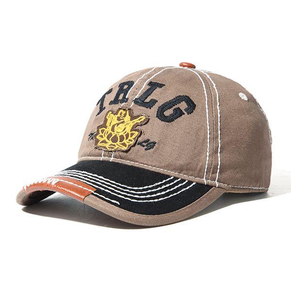 cfdec9214a29a Mens Women Embroidery Letter Denim Baseball Cap Outdoor Sport Adjustable  Snapback Visor Hats