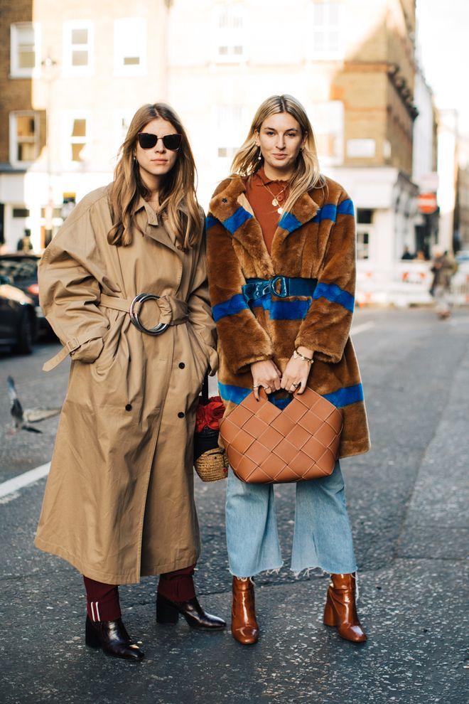 Street style à la Fashion Week automne-hiver 2018-2019 de Londres