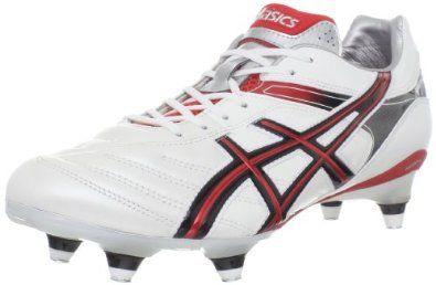 ASICS Men's Lethal Tigreor 5 ST Soccer Shoe,White/Red/Black,10.5 M US ASICS. $109.99