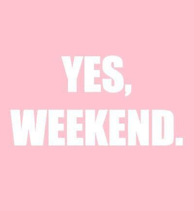 First weekend for the year is here. Leave a comment and let us know what your plans for the weekend are!  Image: (http://media-cache-ec0.pinimg.com/736x/3a/4d/f6/3a4df6cfcf1067dbfe76e6b6dd4b2d69.jpg)