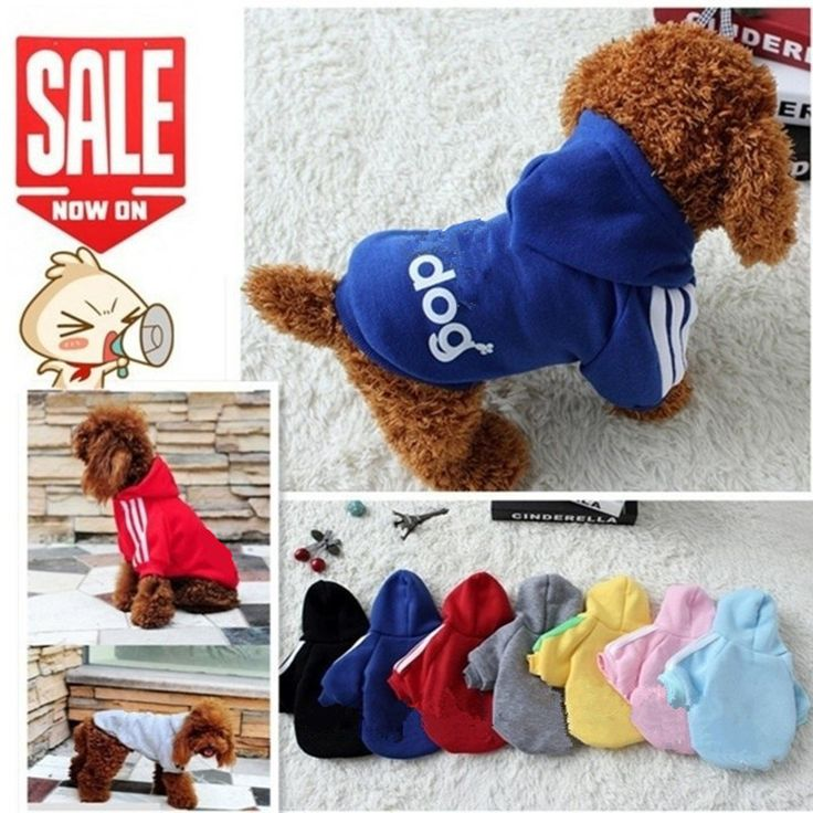 BUY now 4 XMAS n NY. New Autumn Winter Pet Products Dog Clothes Pets Coats Soft Cotton Puppy Dog Clothes Clothes For Dog 7 colors XS-4XL -- Shop 4 Xmas n 2018. Offer can be found on  AliExpress.com. Just click the image.