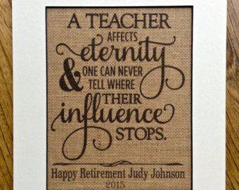 The 25+ best Teacher retirement gifts ideas on Pinterest | Teacher ...