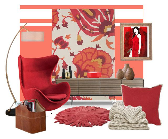 Warm Color Palette by kata-jancso on Polyvore featuring interior, interiors, interior design, home, home decor, interior decorating, Universal Lighting and Decor, Nodus, Dansk and Villa Home Collection
