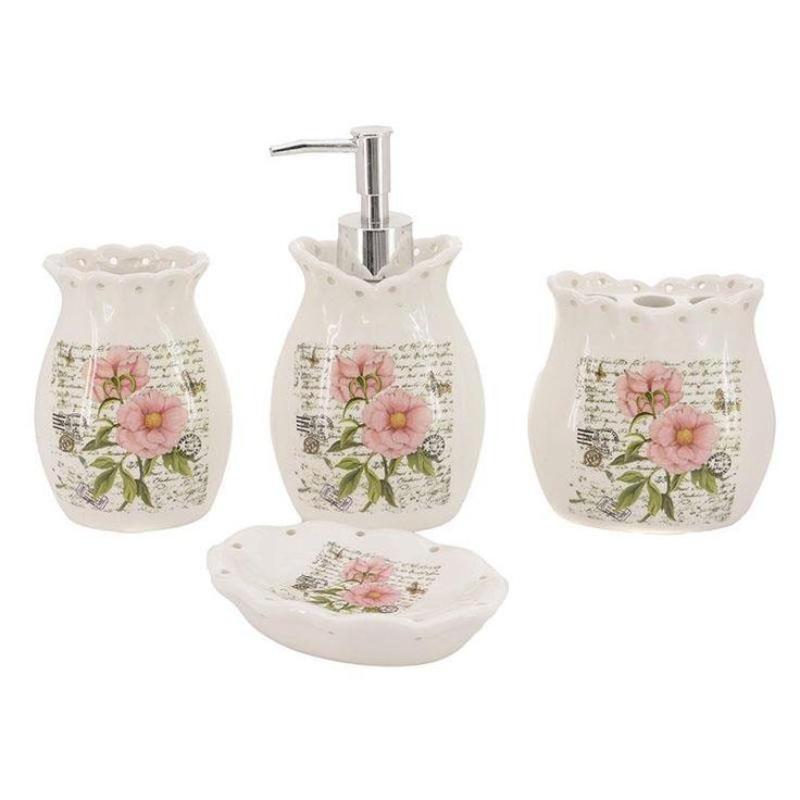 Ceramic Set Of 4 Pieces