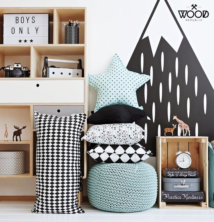 Mint green and monochrome adventure nursery. Perfect for E and A!