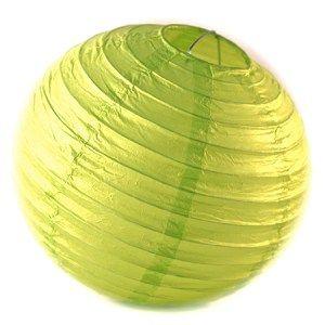 Lime Green Paper Lantern