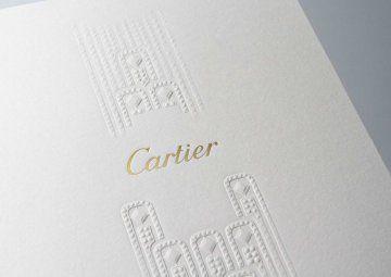 Invitation pour l'évènement Joaillerie L'Odyssée de Cartier