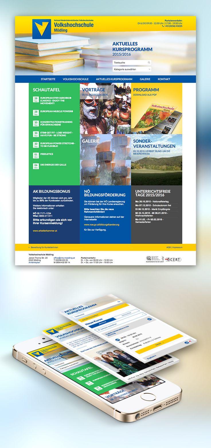 Nun hat auch einer unserer treuesten Kunden eine neue, responsive Website erhalten inkl. neuem Buchungssystem für die große Auswahl an spannenden Kursen.