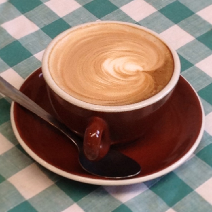Coffee... Now all you need is the Muffin to go with it...