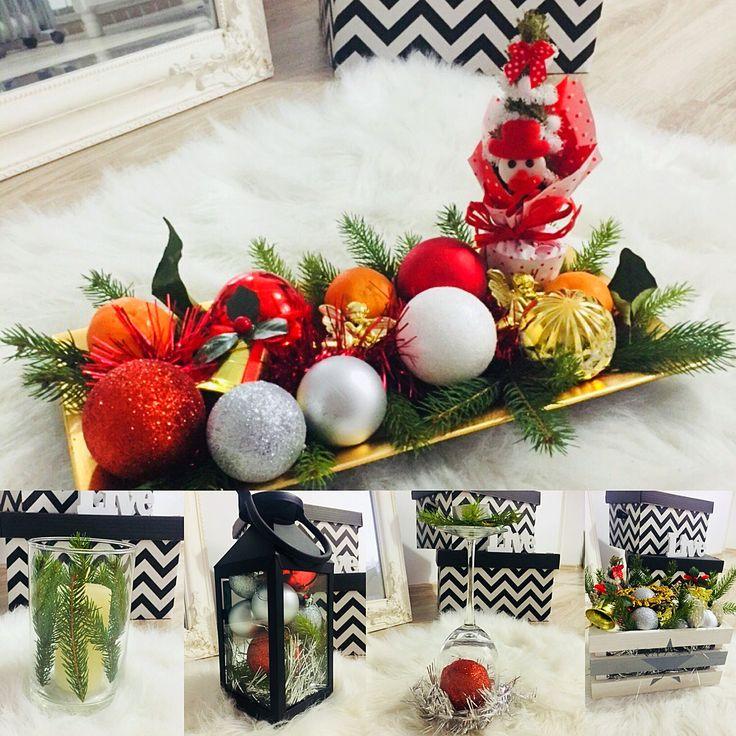 Handmade decor for christmas