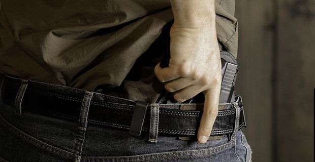 ONE THAT WON'T MAKE HEADLINES: MAN WITH CONCEALED CARRY PERMIT PREVENTS MASS SHOOTING Saves lives of three other people, including 1-year-old