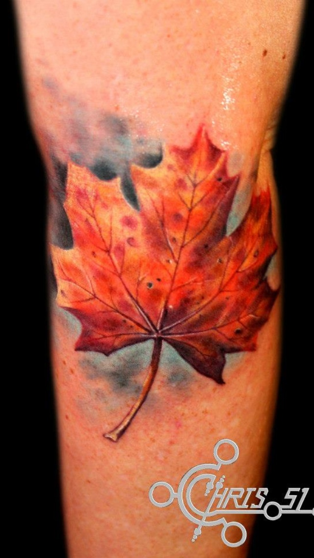 Little leafy. Done with Formula 51 ink