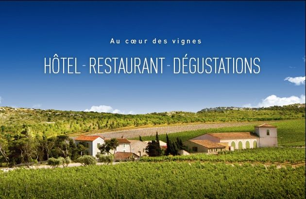 """Château l'Hospitalet – Hôtel Restaurant Narbonne, France. """"Visit Chateau L'Hospitalet during December for the annual Pruning Celebration or hire an individual [truffle] guide through the hotel.  The hotel offers year-round celebrations which reflect Bertrand's zeal to share the casual 'joie de vivre' elegance of southern France with the world.  Upcoming events include: a summer jazz festival and fall harvest celebration."""""""