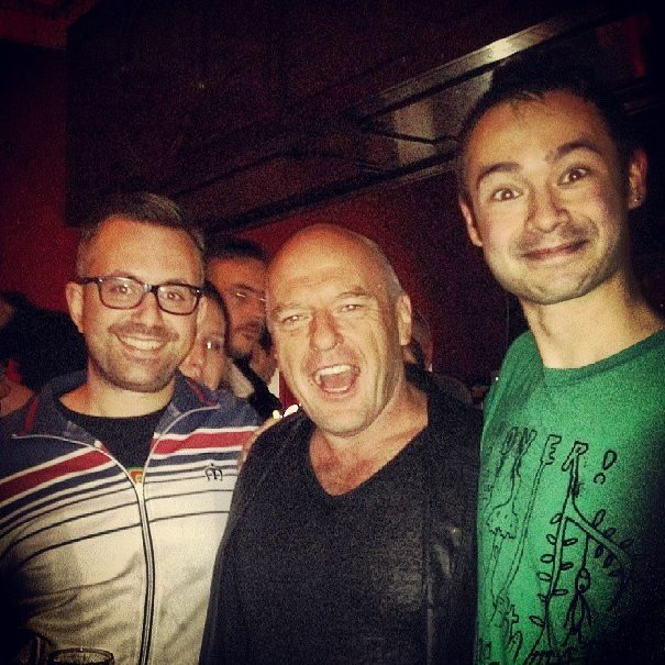 Team #seevl meets Dean Norris of #BreakingBad #UndertheDome
