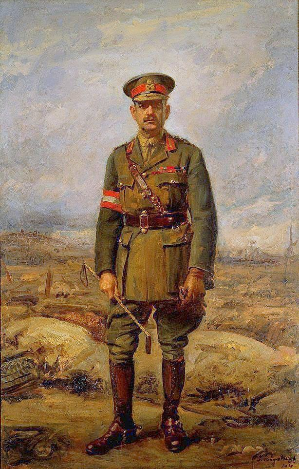 General Sir John Monash GCMG, KCB, VD was a civil engineer who became the Australian military commander in the First World War. He commanded the 13th Infantry Brigade before the war and then, shortly after the outbreak of the war, became commander of the 4th Brigade in Egypt. In July 1916, he took charge of the new Australian 3rd Division in NW France and in May 1918 he was made commander of the Australian Corps, at the time the largest corps on the Western Front.