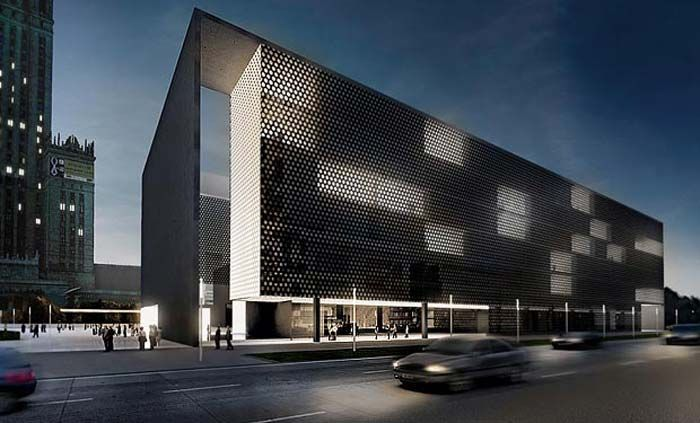 modern architecture museum in warsaw arquitetura architecture warsaw and modern