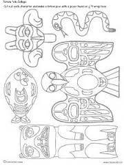 totem pole art for kids - Google Search
