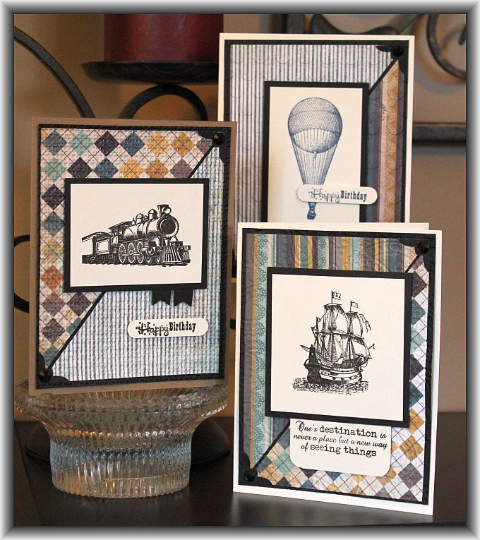 images technique tuesdady all aboard | Technique Tuesday - All Aboard stamp set.from the Cutting Garden ...