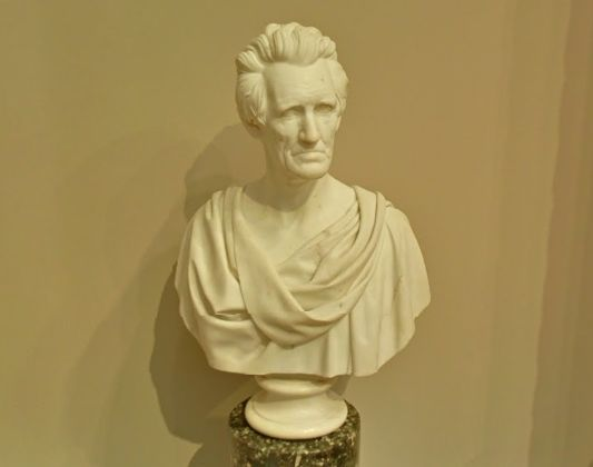 Hiram Powers, Andrew Jackson, 1839 Metropolitan Museum of Art