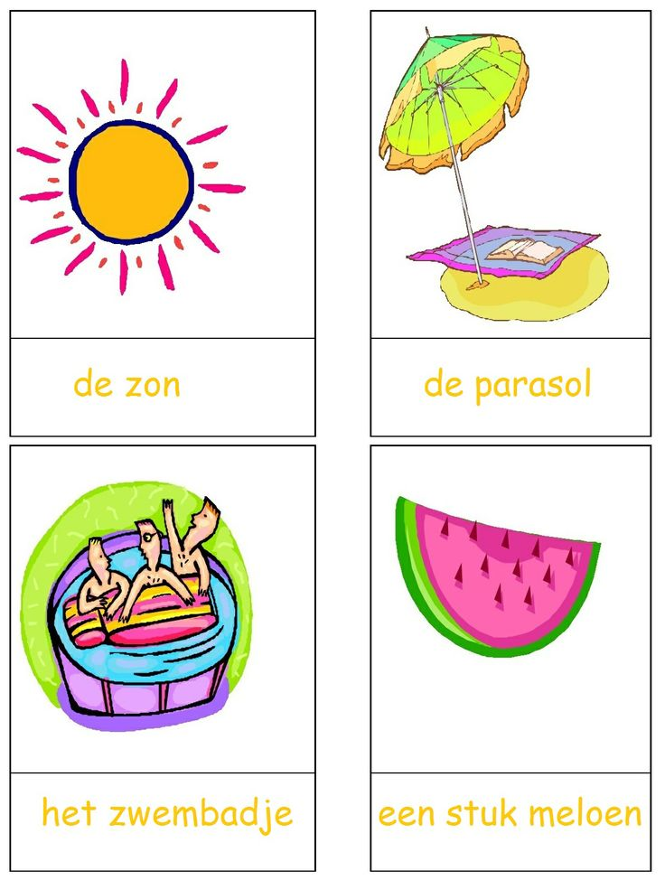 * Woordkaarten met lidwoorden! 1-3