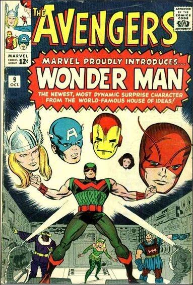 Avengers # 9 First Appearance of Wonder Man