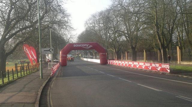 Half Marathon Start., via Flickr.