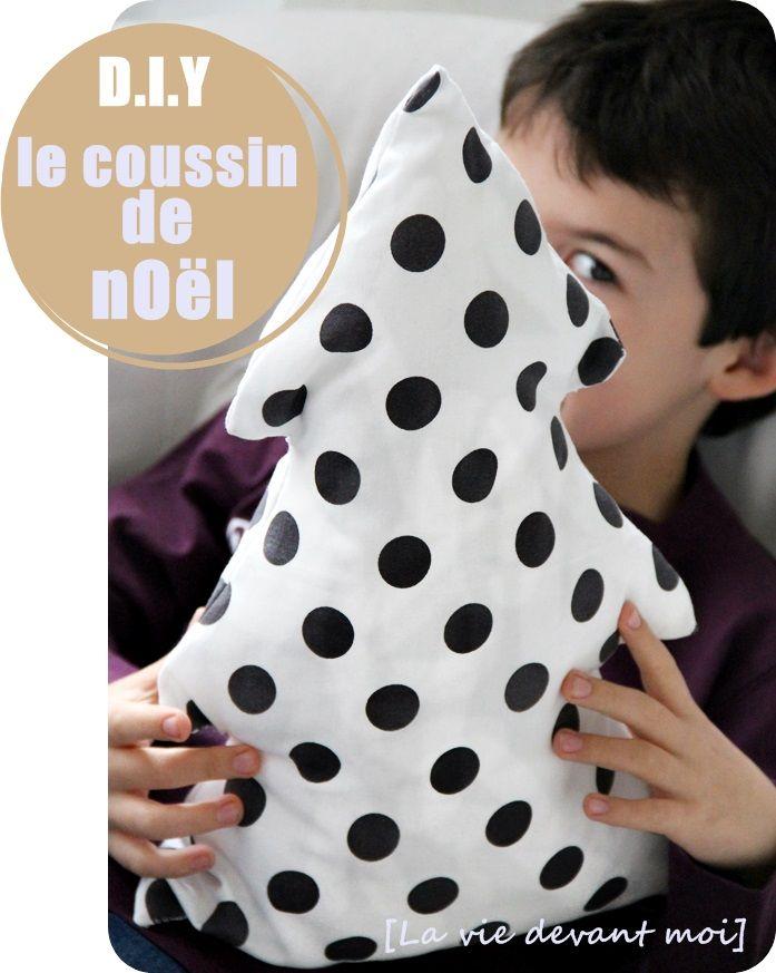 * DIY: fabriquer un coussin de Noël! (2) - La vie devant moi