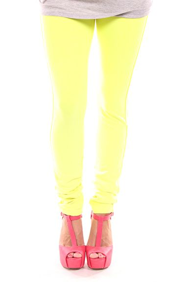 Lime Lush Boutique - Neon Yellow Pants, $39.99 (http://www.limelush.com/neon-yellow-pants/)