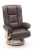 Comfortabele relaxstoel Pride van het merk Hjort Knudsen. Stoel op houten draairing leverbaar als handverstelbare of electrische verstelling door middel van 2-motoren. Leverbaar in vele leder en stofsoorten. Bekijk de mogelijkheden in onze webshop