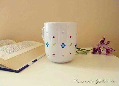 Malowany kubek - zrób to sam