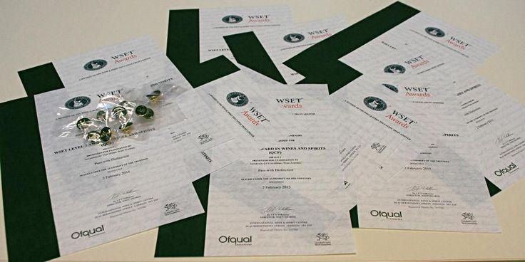 WSET Level 3 Certificates | Milano Wine Academy