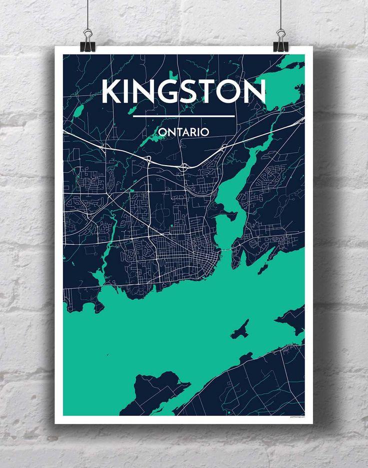 Kingston City Map