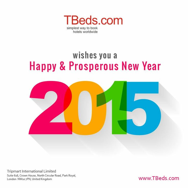#TBeds.com wishes you a #happy and #prosperous #NewYear