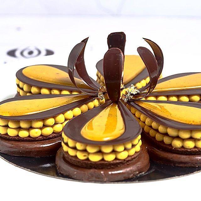 ♥ Dezert * vanilkový krém s čokoládou ♥