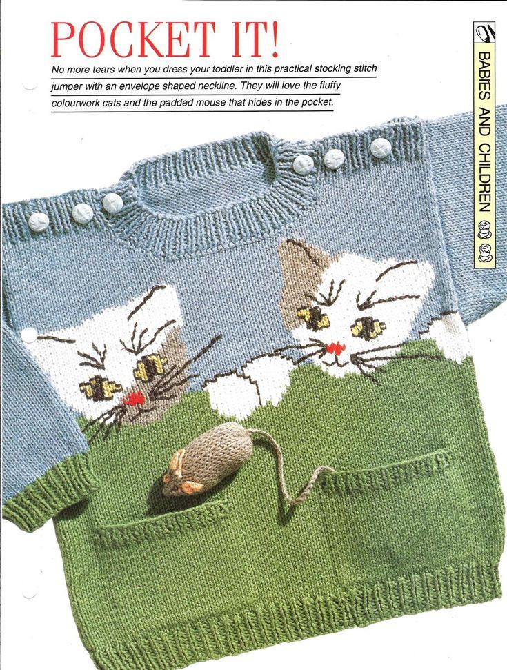 Mix Knitting and Crochet Pattern