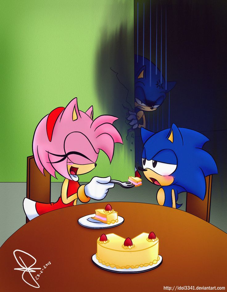 nude amy naked sonic