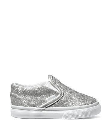 Vans Toddler Girls' Classic Slip-On Sneakers - Sizes 5-7 Infant; 8-10 Child   Bloomingdale's