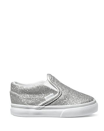 Vans Toddler Girls' Classic Slip-On Sneakers - Sizes 5-7 Infant; 8-10 Child | Bloomingdale's
