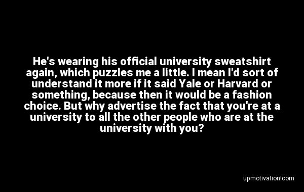 He�s wearing his official