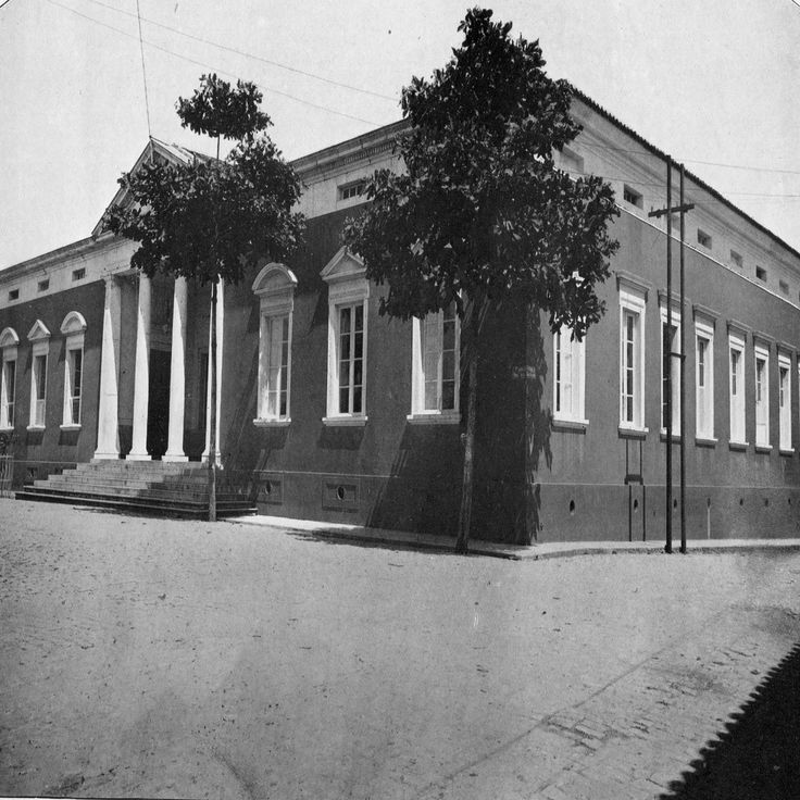 Antigo Palácio do Governo. Manaus. Álbum do Amazonas.1901-1902.