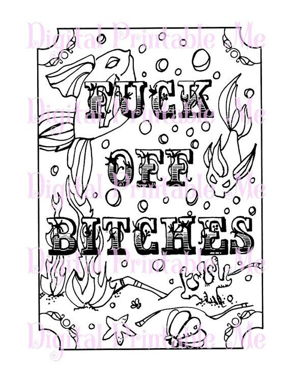 printable curse word coloring pages - 71 best swear word coloring pages images on pinterest
