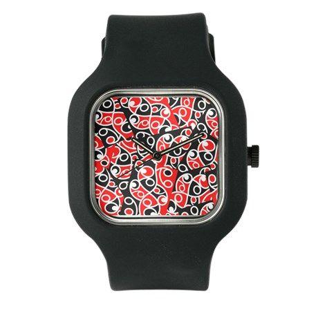 Maori Kowhaiwhai Pattern Watch on CafePress.com