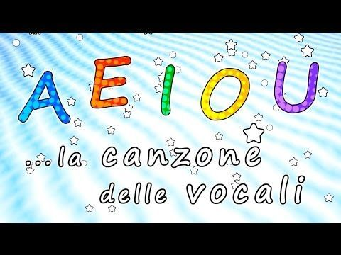 AEIOU - La canzone delle vocali AEIOU - Canzoni per bambini - Baby cartoons - Baby music songs - YouTube