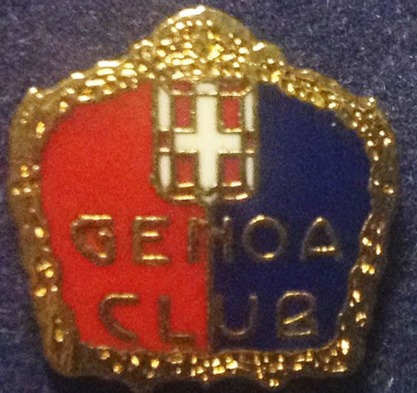 Distintivo smaltato Genoa Calcio.