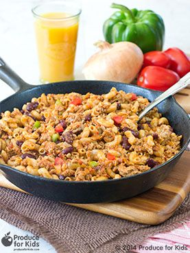 One Pot Healthy Turkey Skillet