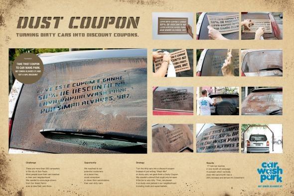 Car Wash Park: Dust coupon