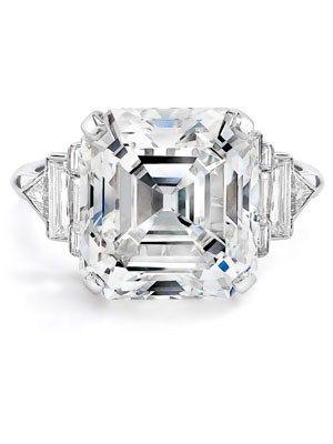 Elizabeth Taylor: Oversize Diamond Ring  Elizabeth Taylor's ring from husband number six, Richard Burton, is still one of the most dazzling rocks we've ever seen.